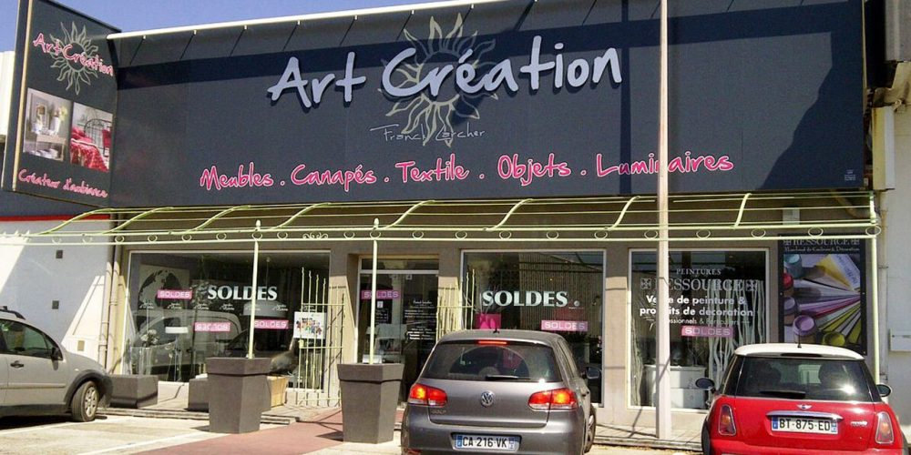 Art Creation enseigne