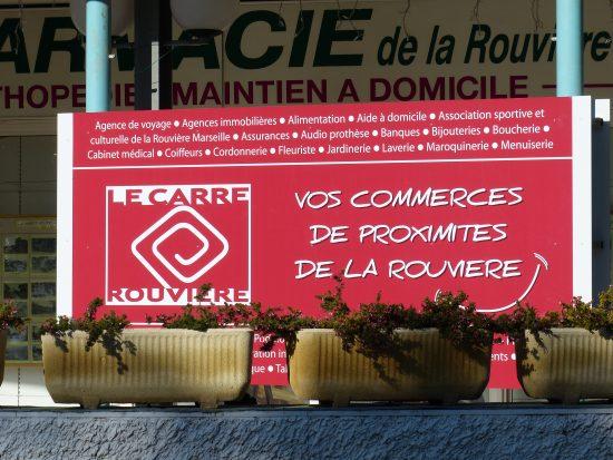 CENTRE COMEMERCIAL ROUVIERE-Panneau-010