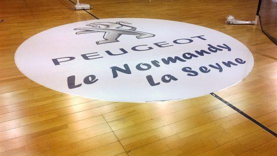 Peugeot le Normandy adhésif
